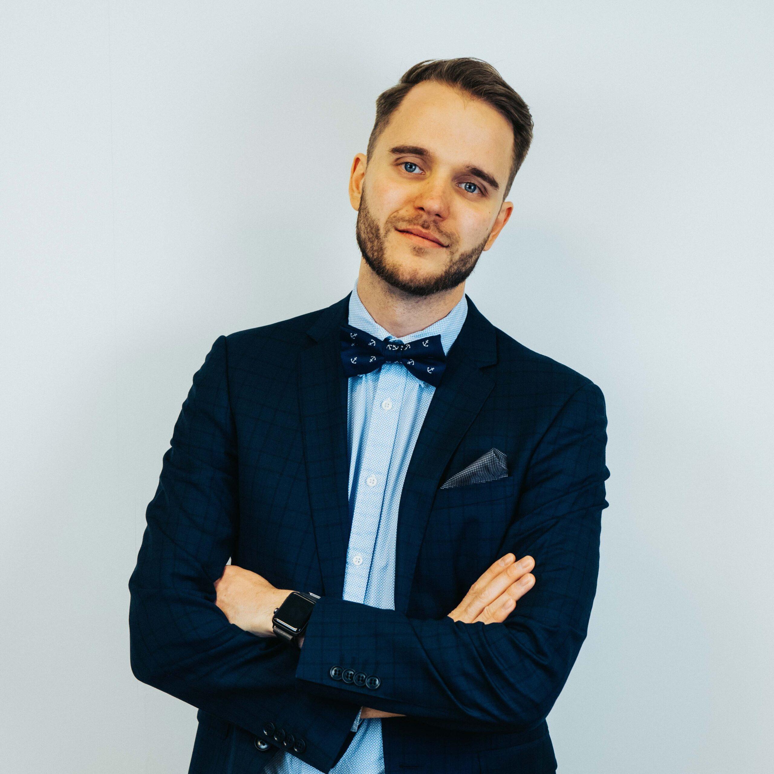 Bilde av Rasmus Tyrén CEO og founder