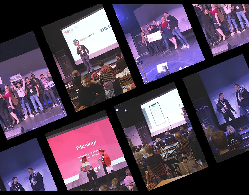Ideathon 2020 collage